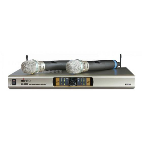 MR-6688UHF雙頻無線麥克風