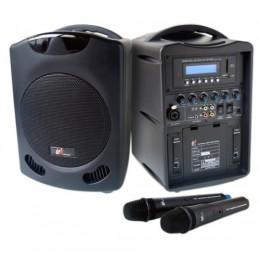 PU-302手提式雙頻無線擴音機
