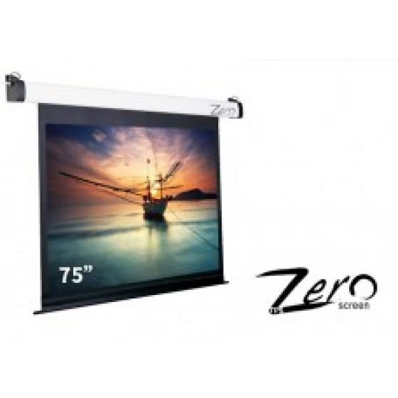 ZEE-S75.75吋.1:1 經濟型電動布幕