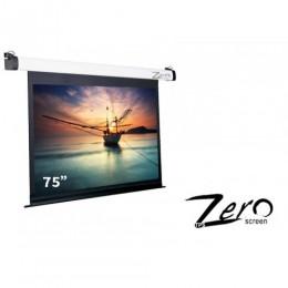 ZEE-V75.75吋.4:3 經濟型電動布幕