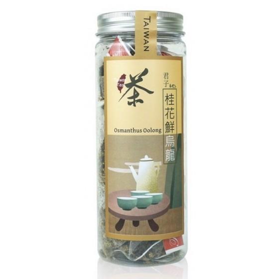 桂花鮮烏龍立體茶包(20入)